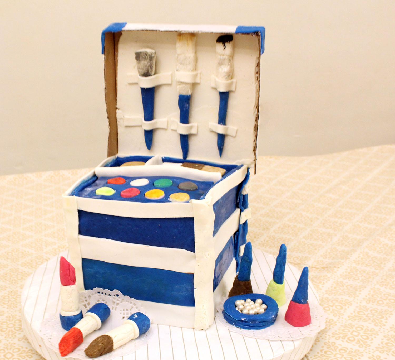 IMG 6458 - עוגה : סט איפור