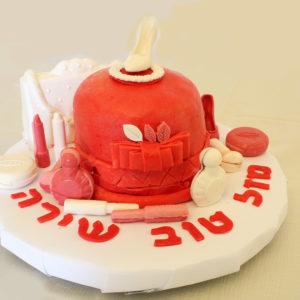 IMG 7272 1 300x300 - עוגת יומולדת איפור לילדה קטנה