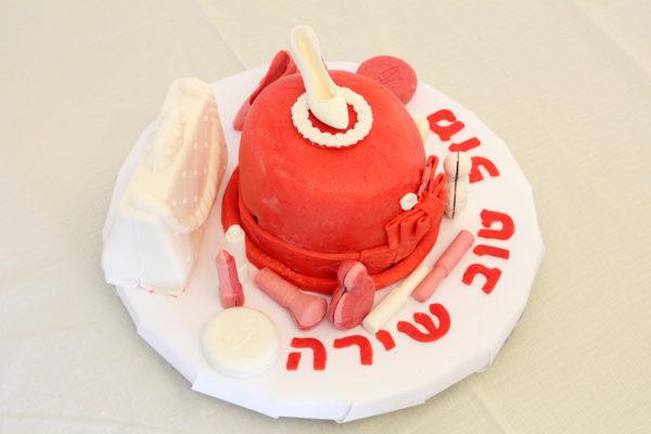 IMG 7274 600x400 - עוגת יומולדת איפור לילדה קטנה