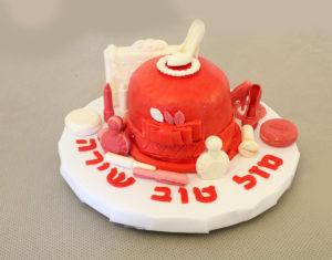 IMG 7276 1 300x235 - עוגת יומולדת לילדה מהממת