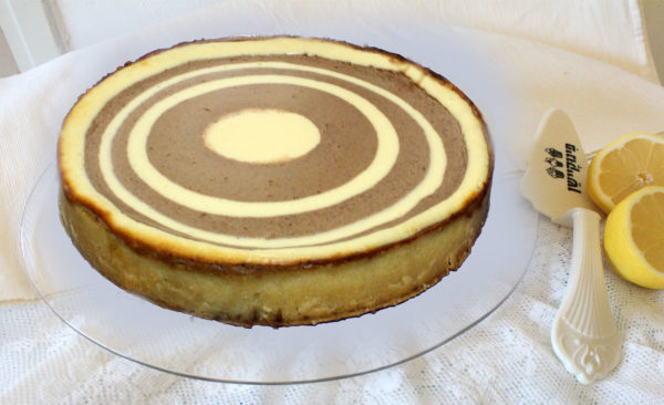 IMG 6525 600x366 - עוגת גבינה ספירלה