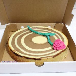 IMG 6549 300x300 - עוגת גבינה ספירלה