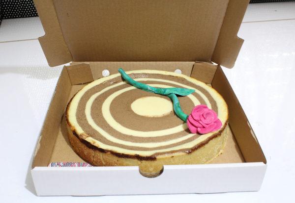 IMG 6549 600x414 - עוגת גבינה ספירלה