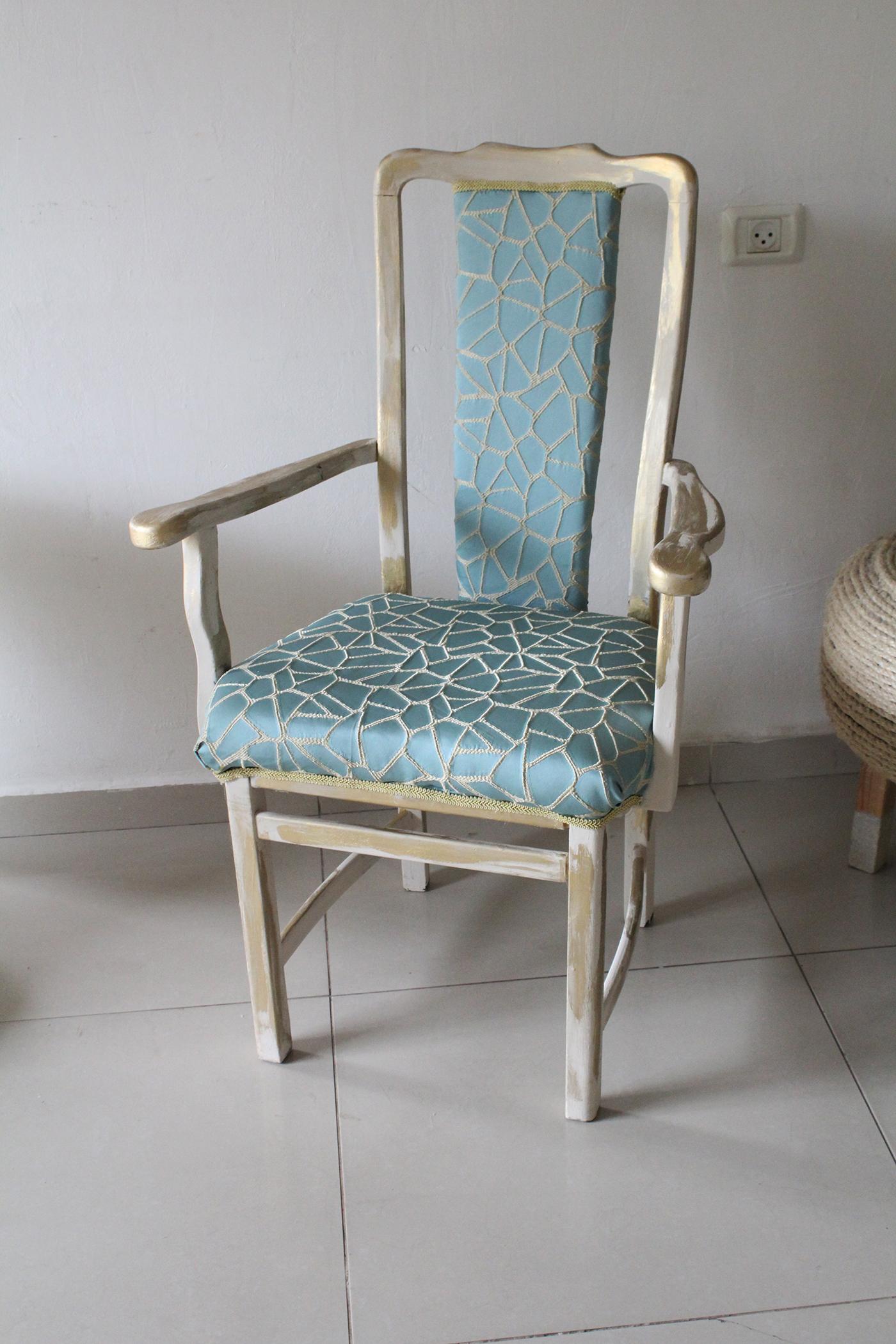 IMG 7657 - חידוש כסא לסט הסלוני