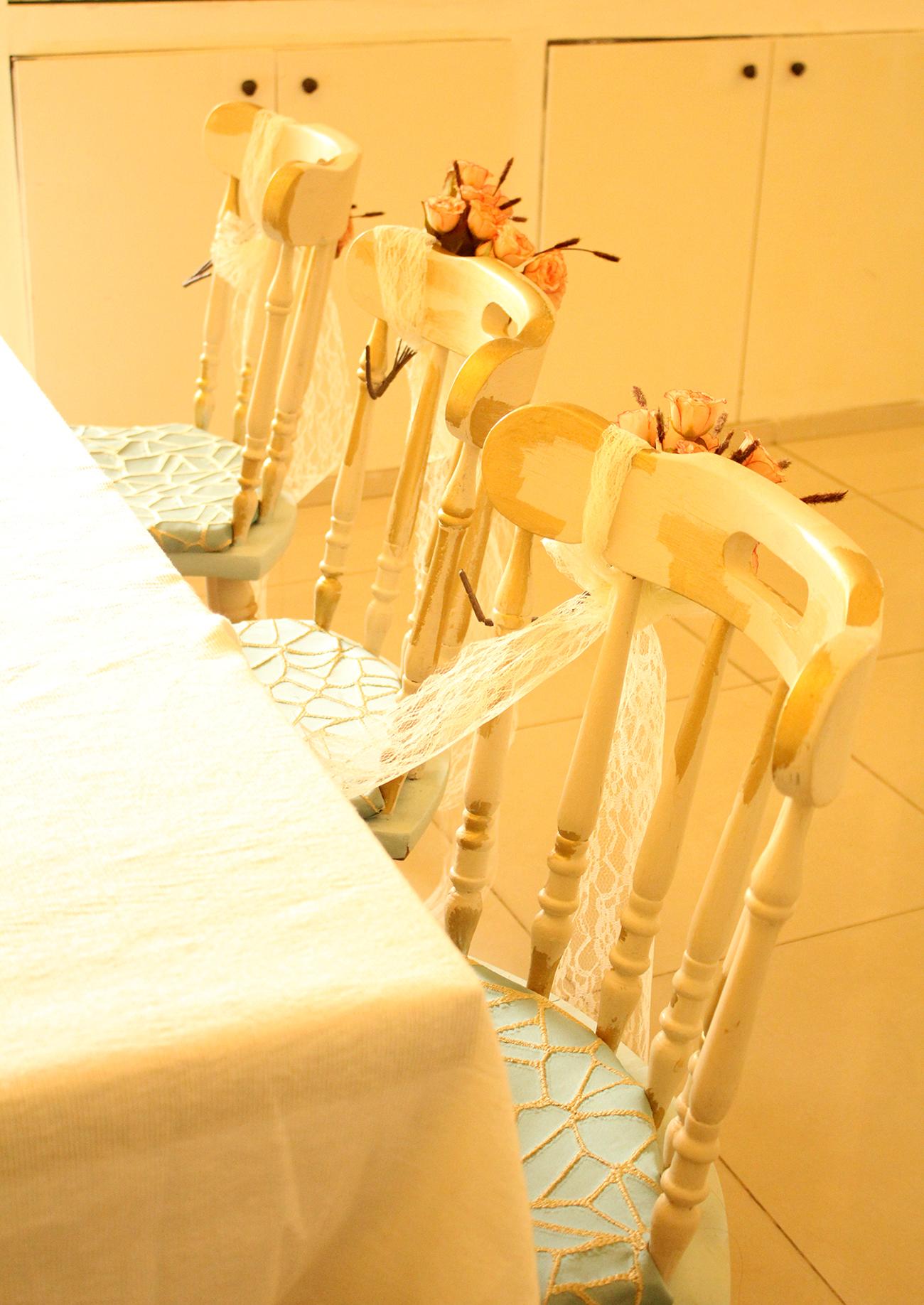 IMG 8077 - חידוש כסאות לפינת אוכל בסלון