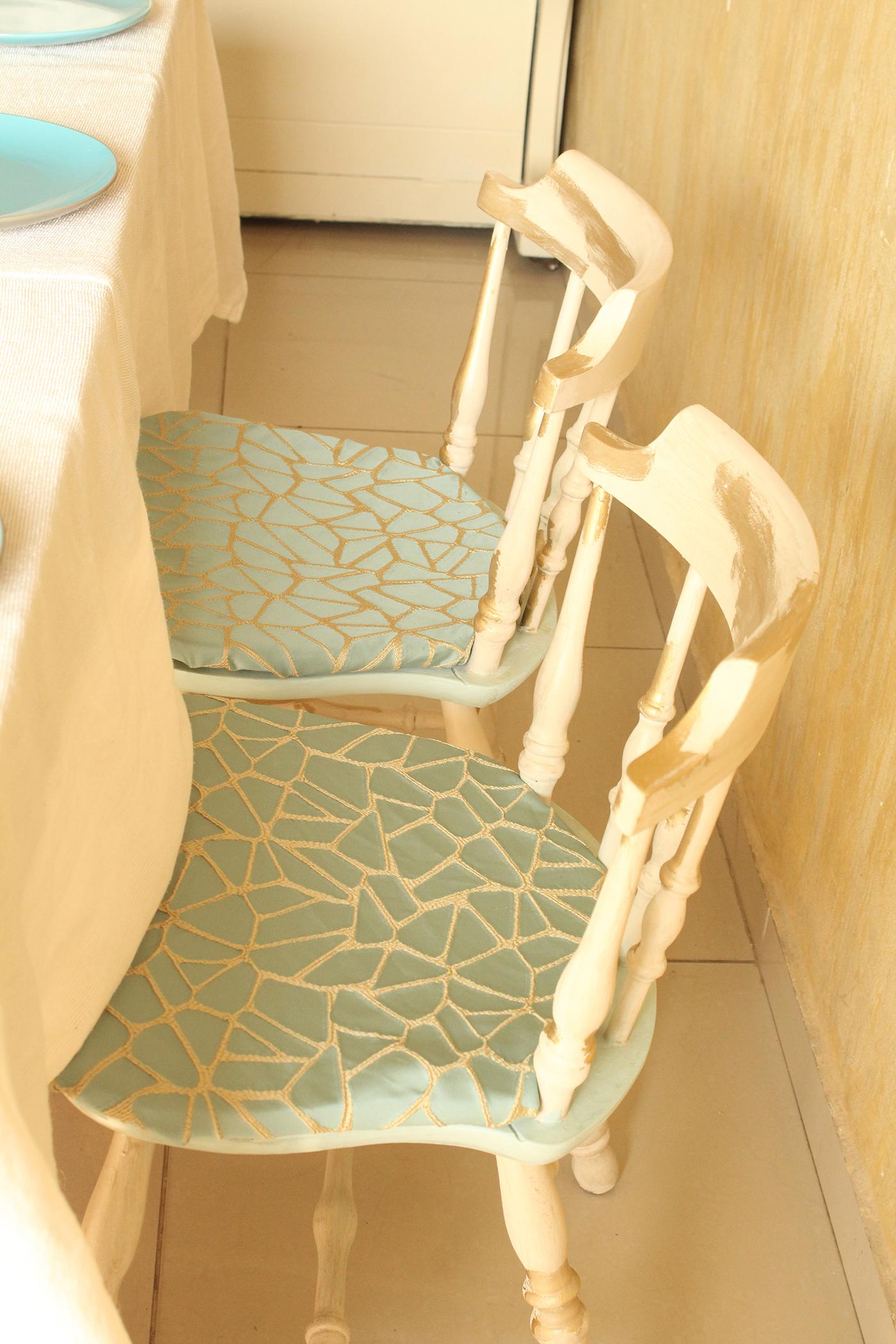 IMG 8134 1 - חידוש כסאות לפינת אוכל בסלון