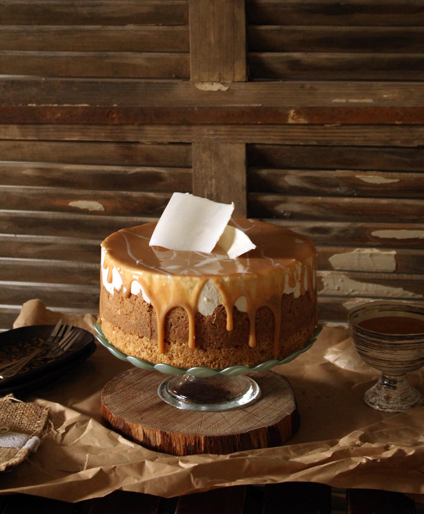 IMG 8331 - עוגת גבינה בציפוי ריבת חלב