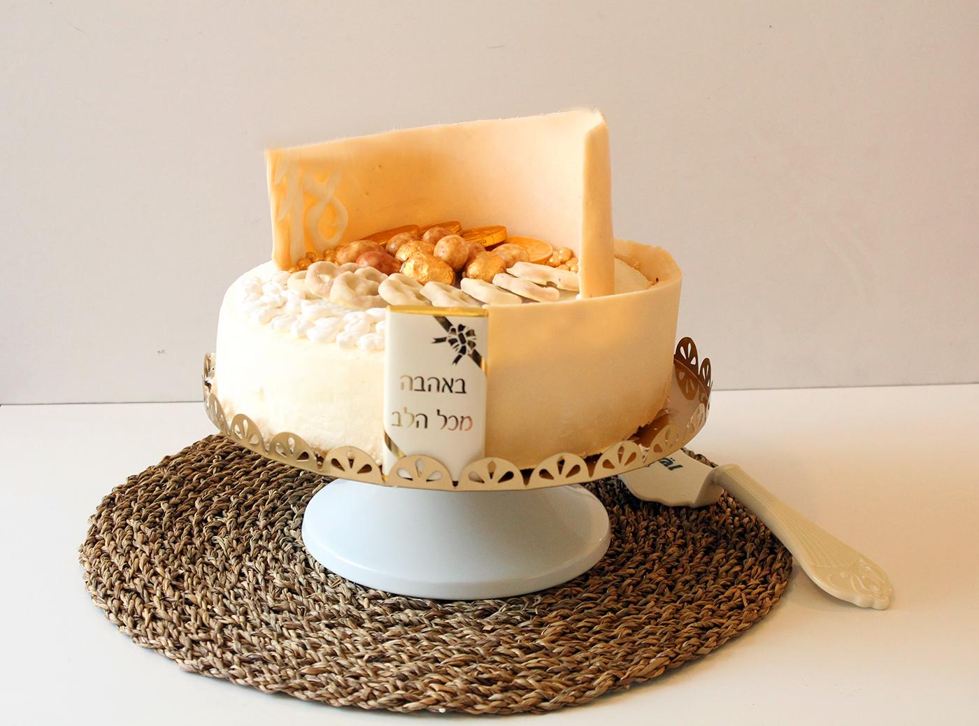 IMG 8702 - אותה גברת בשינוי אדרת :עוגת גבינה