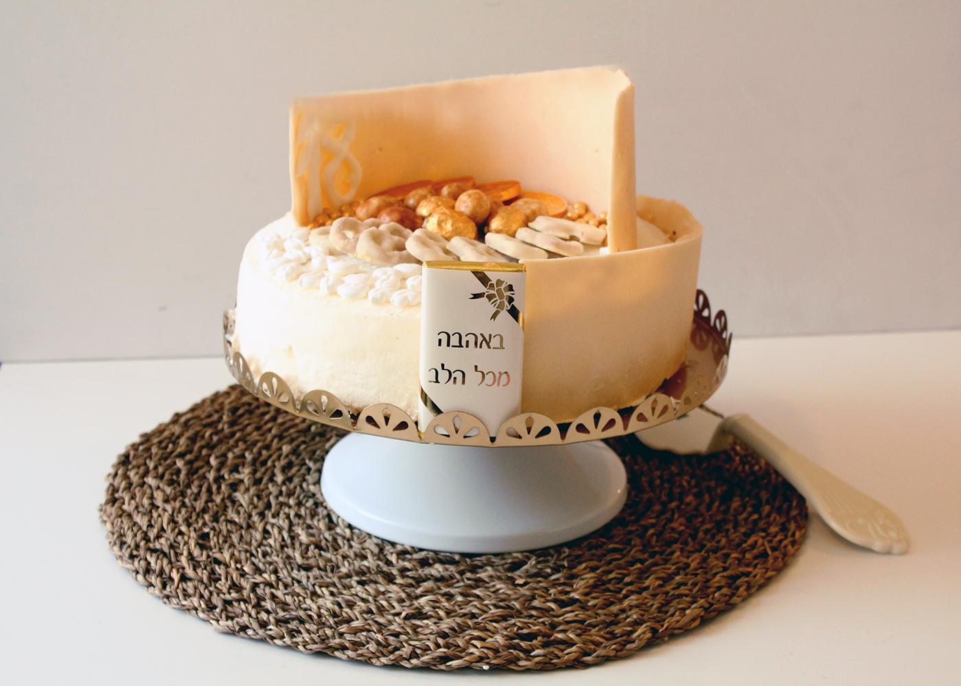 IMG 8704 - אותה גברת בשינוי אדרת :עוגת גבינה