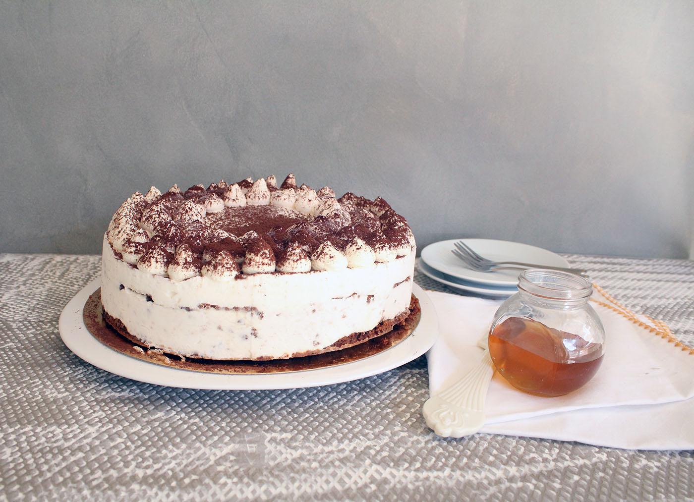 IMG 9735 - עוגת טרימיסו דבש ופקאן