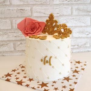 1 2 300x300 - עוגת כתר ושושנה