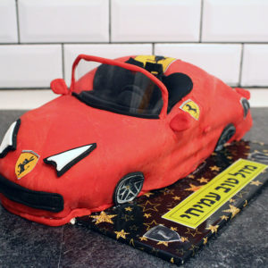 IMG 1663 300x300 - עוגה בצורת מכונית