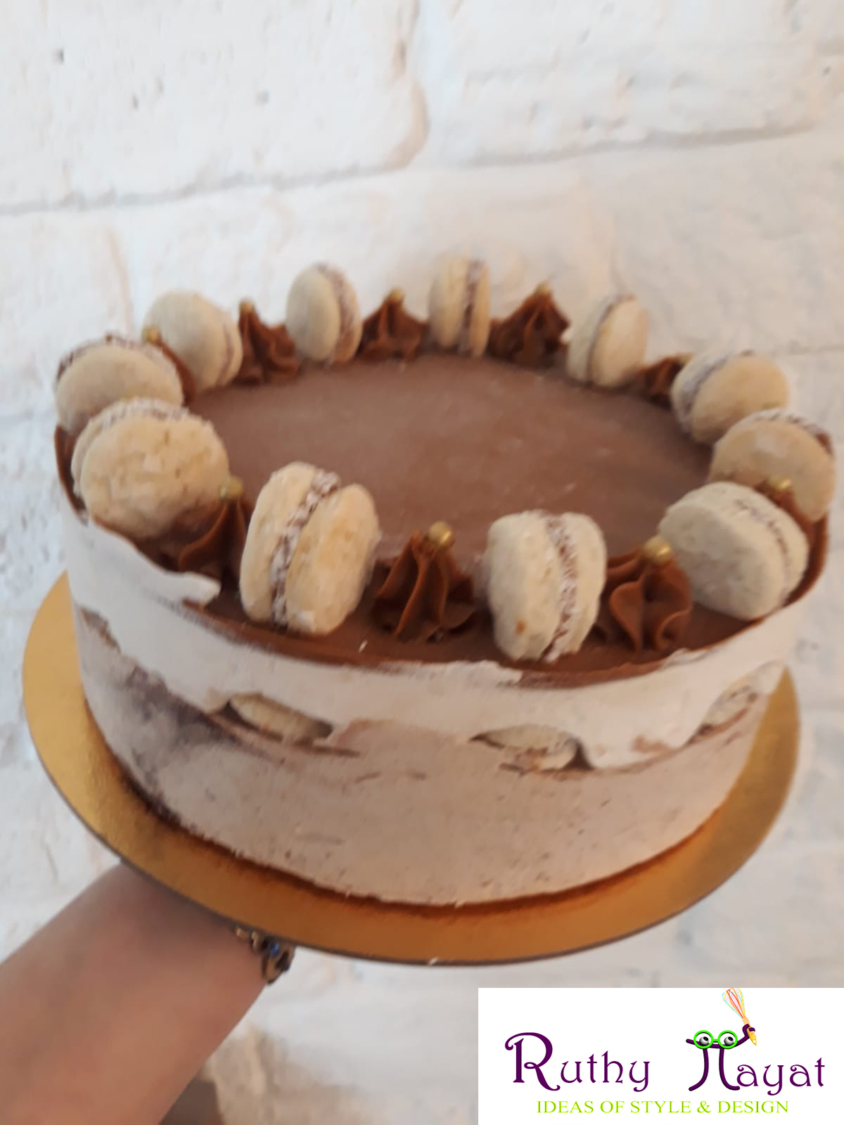 Untitled 3 - עוגת מוס אלפחורס פרווה