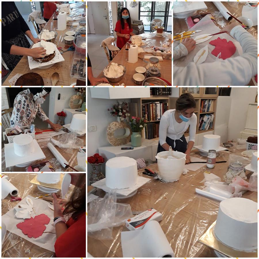1 1 - סדנאות זילוף עוגות נשים