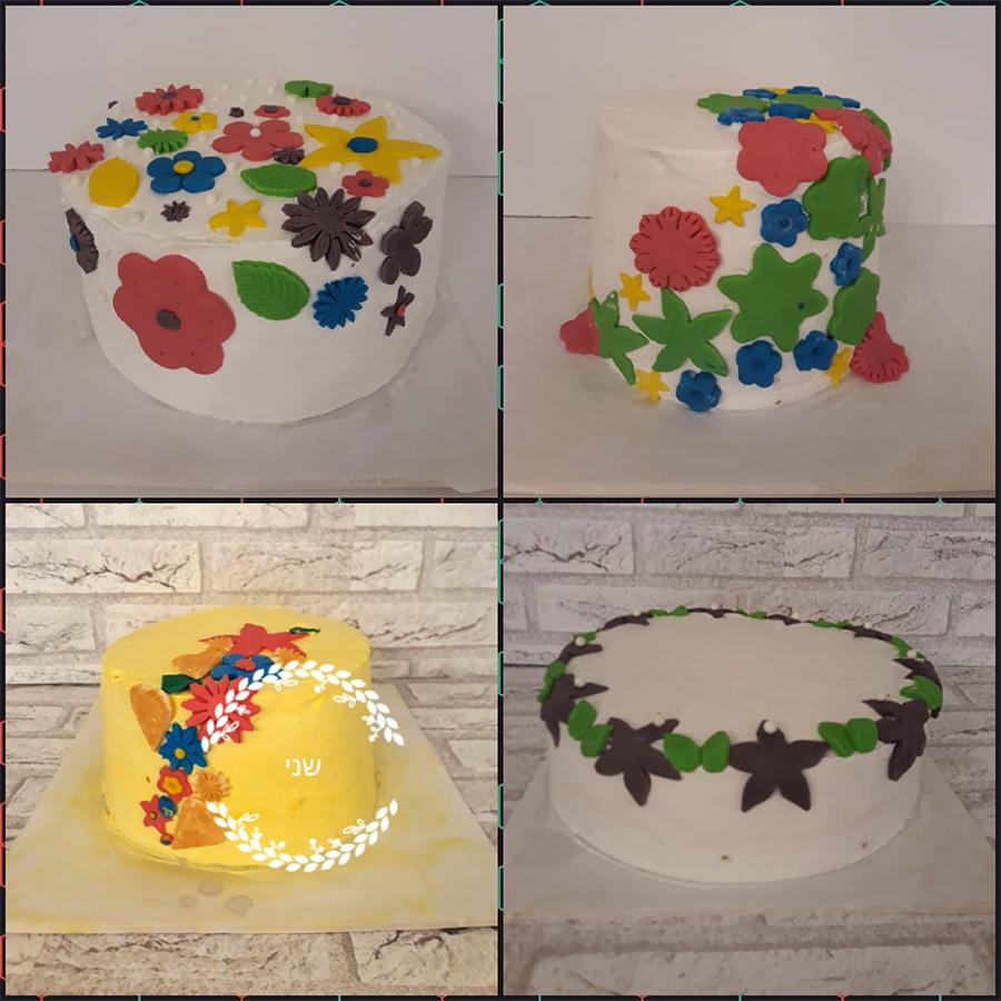 5 - סדנת עוגות זילוף-ילדות