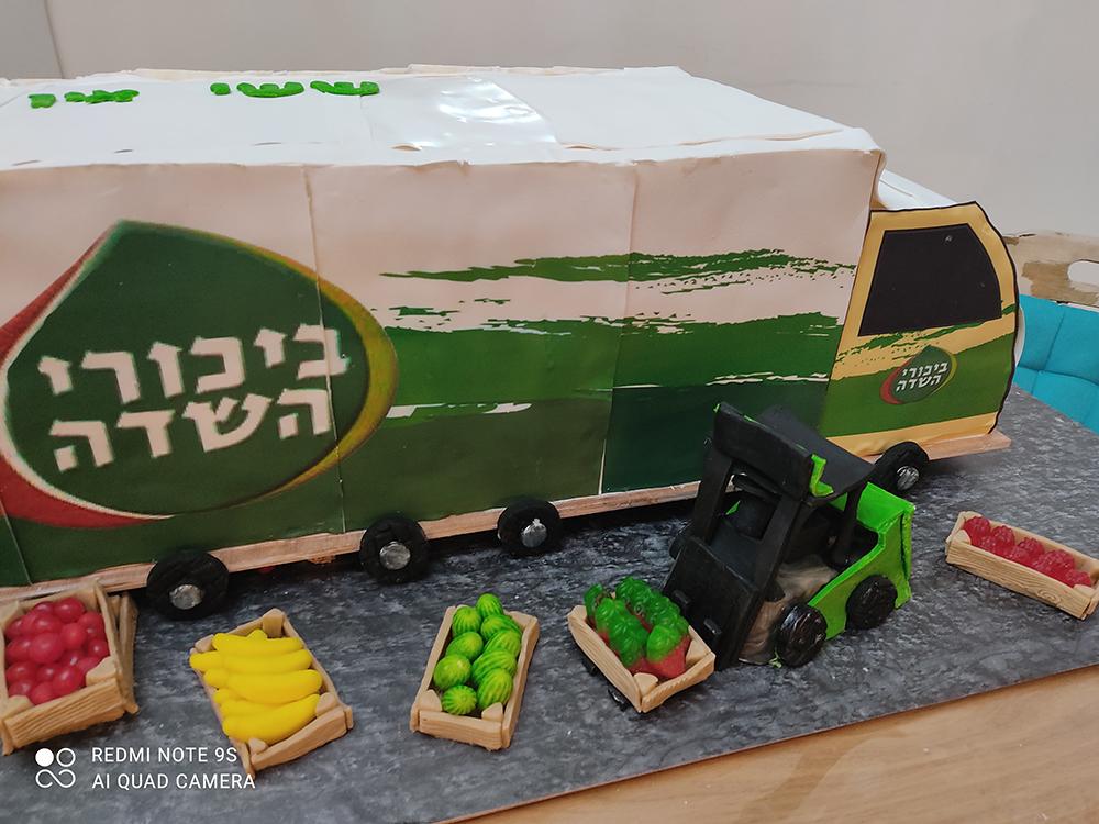 18 - איך בונים משאית גדולה אכילה?