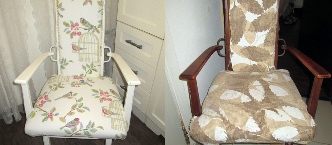 כורסא לפני ואחרי