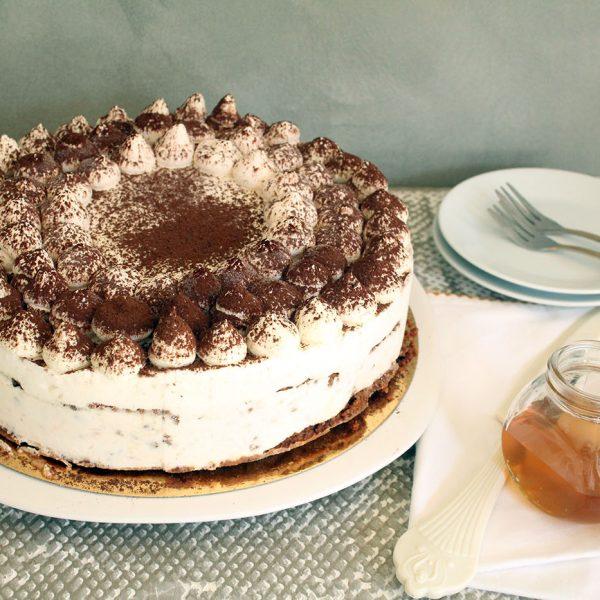 עוגת טרימיסו דבש ופקאן